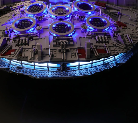 Ultimate Millennium Falcon 75192 LED  light set