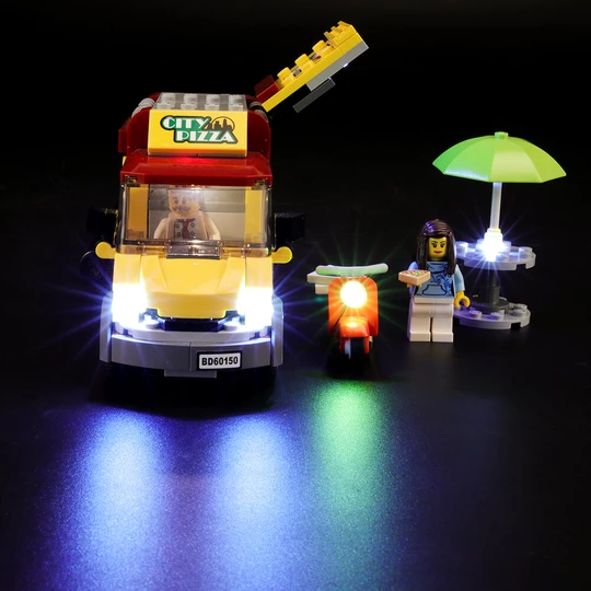 Light kit for Pizza Van 60150