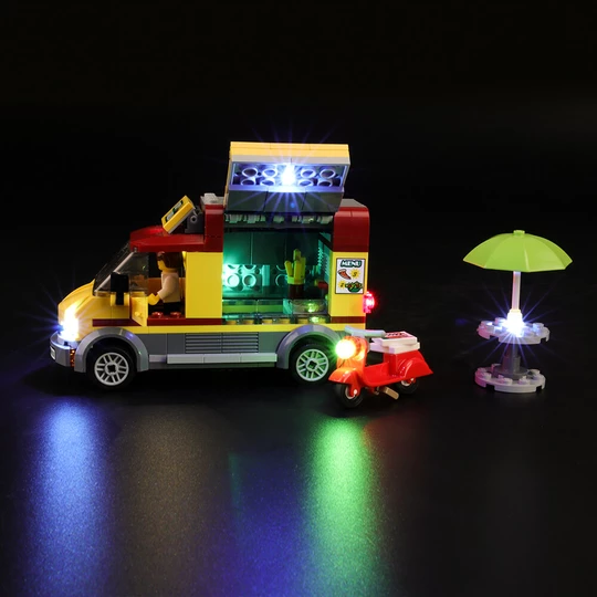 Pizza Van 60150 light kit