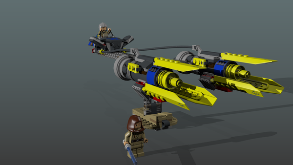 Starwar New edition lego Podracer