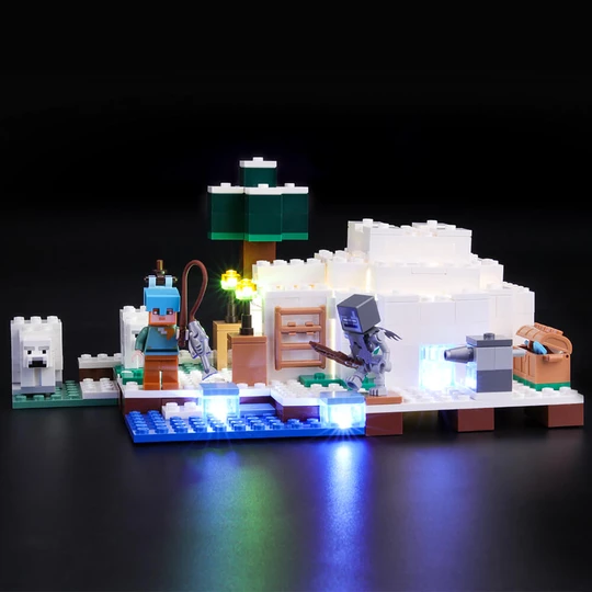 Light Kit For The Polar Igloo 21142