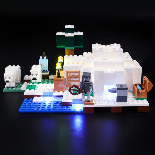 Light Kit For The Polar Igloo