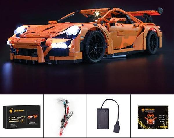 Lego light kit for Lego Porsche 911 car