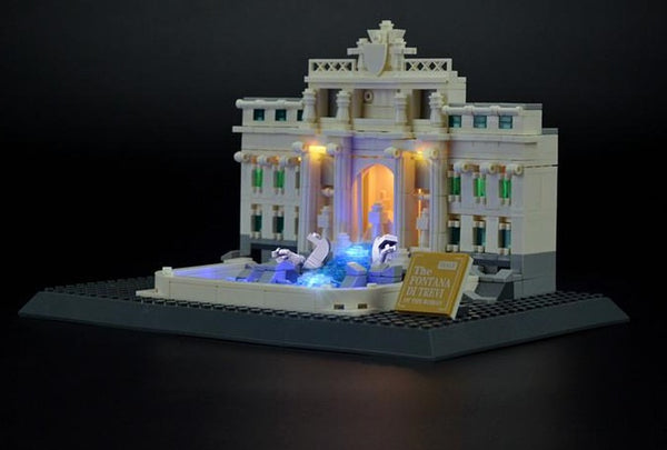 light kit for lego Trevi Fountain 21020