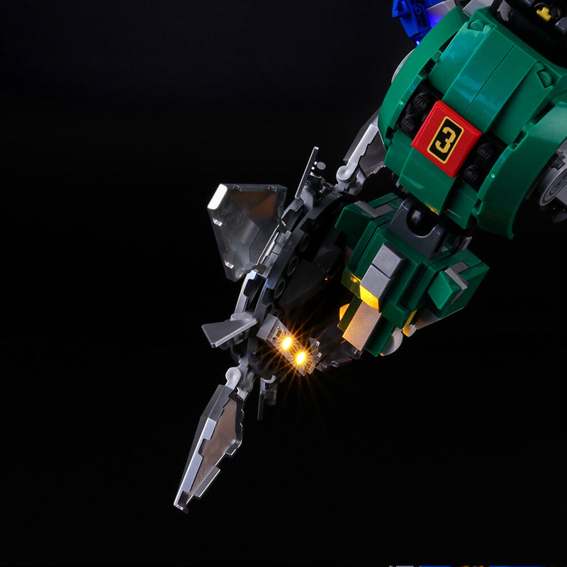 Light Kit For Voltron 21311-BriksMax-Lego