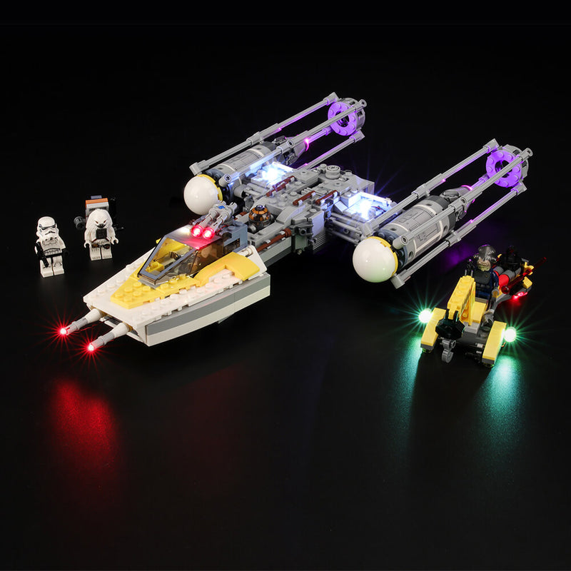 Lego Light Kit For Y-Wing Starfighter 75172  BriksMax
