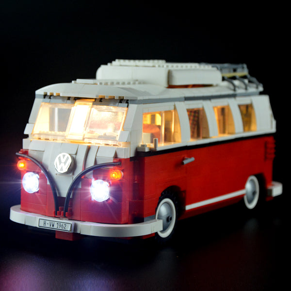 Lego Light Kit For Volkswagen T1 Camper Van 10220  Lightailing