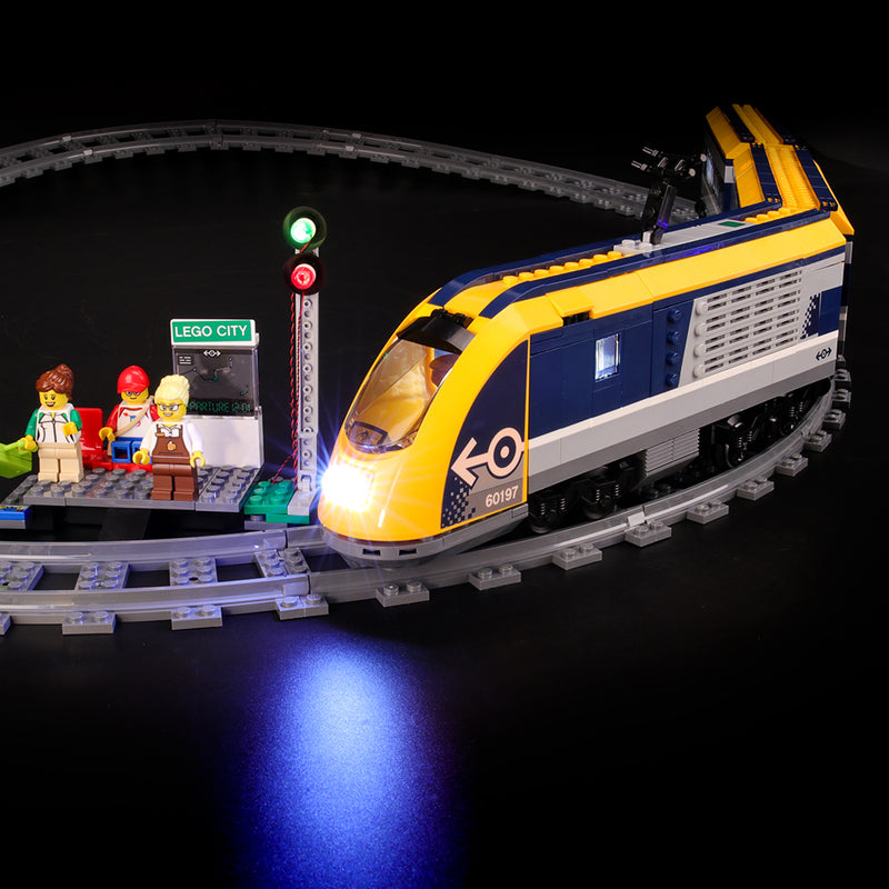 Lego Light Kit For City Passenger Train 60197  BriksMax