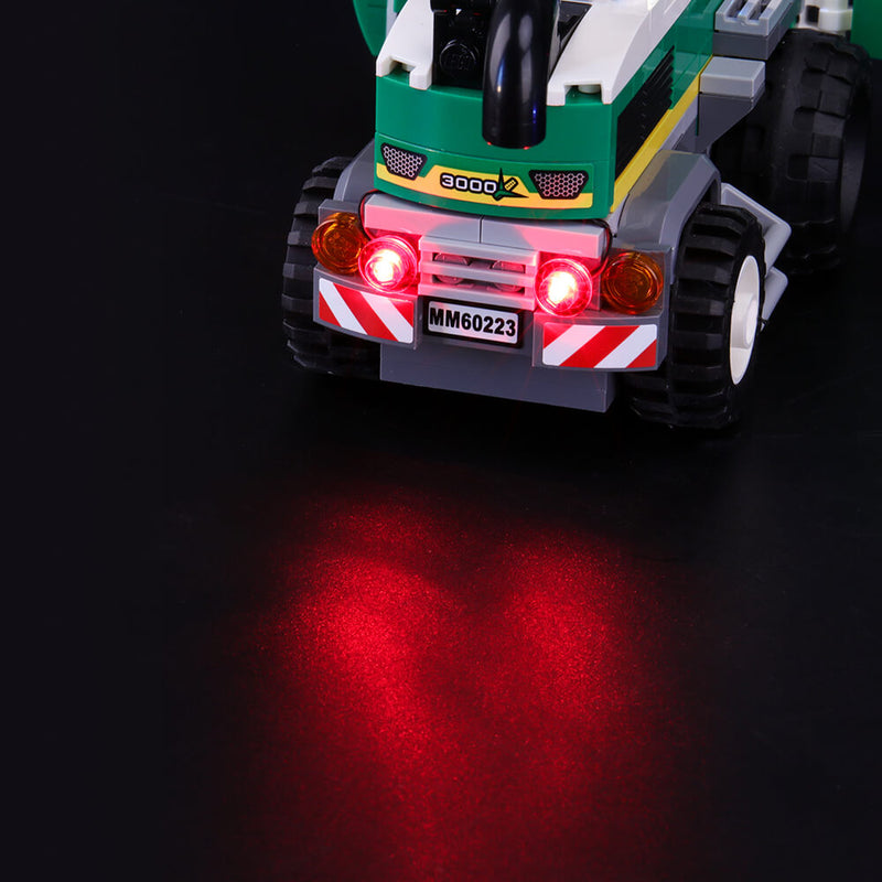 Lego Light Kit For Harvester Transport 60223  BriksMax