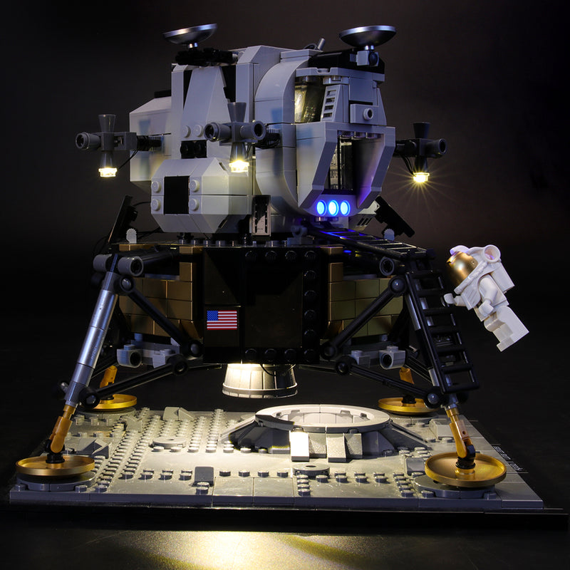 Lego Light Kit For NASA Apollo 11 Lunar Lander 10266  Lightailing