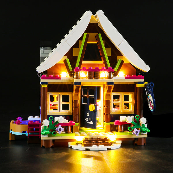 Lego Light Kit For Snow Resort Chalet 41323  Lightailing