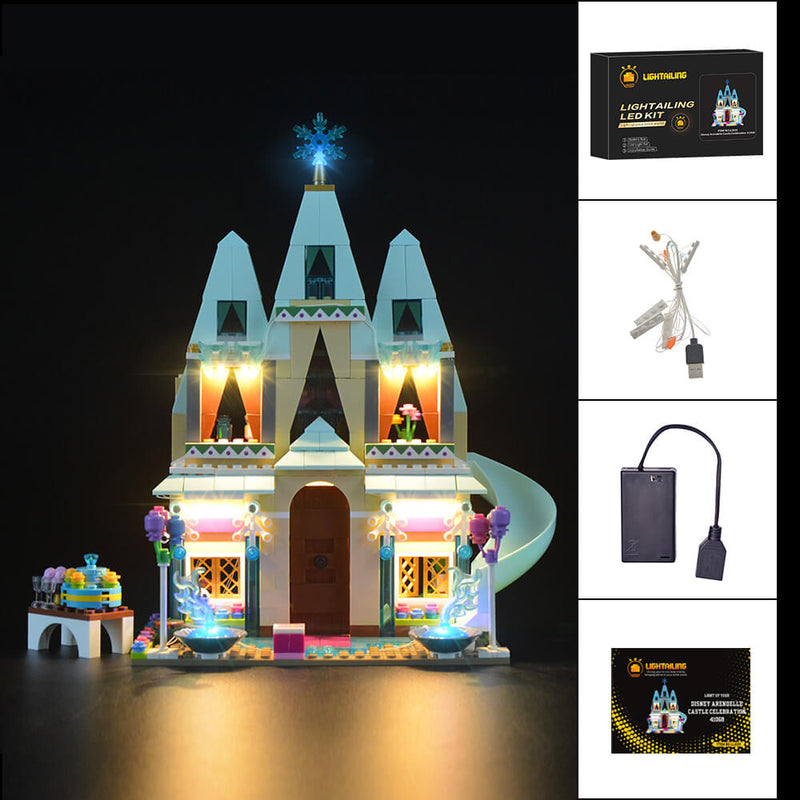 Lego Light Kit For Disney Arendelle Castle Celebration 41068  Lightailing