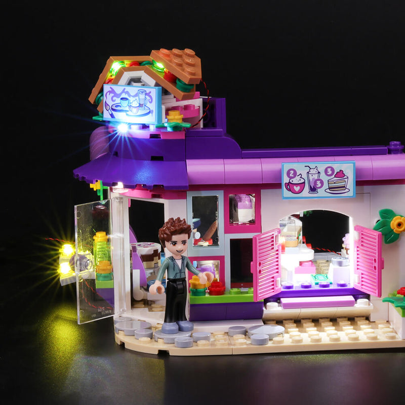 Lego Light Kit For Friends Emma's Art Cafe 41336  BriksMax