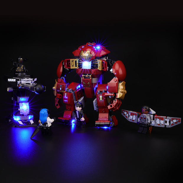 Light Kit For The Hulkbuster Smash-Up 76104