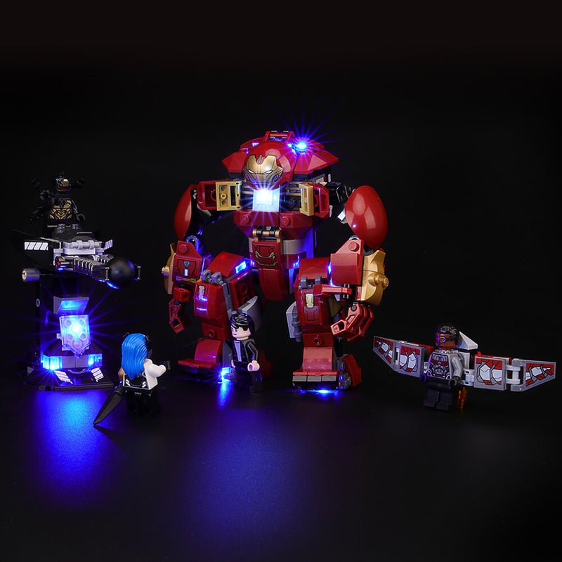 Lego Light Kit For The Hulkbuster Smash-Up 76104  BriksMax