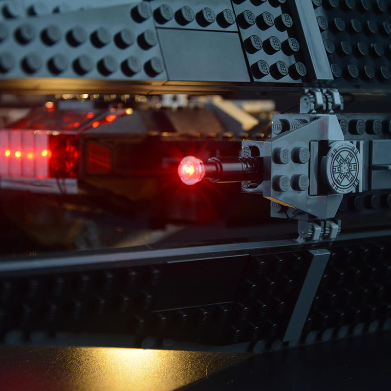 Lego Light Kit For Kylo Ren's TIE Fighter 75179  Lightailing
