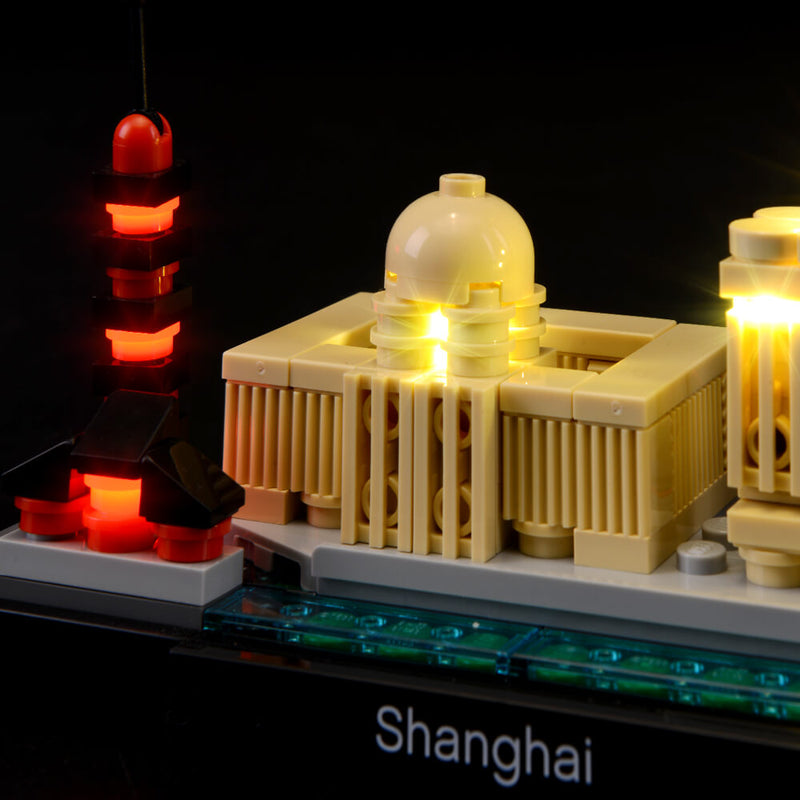 Lego Light Kit For Shanghai 21039  BriksMax