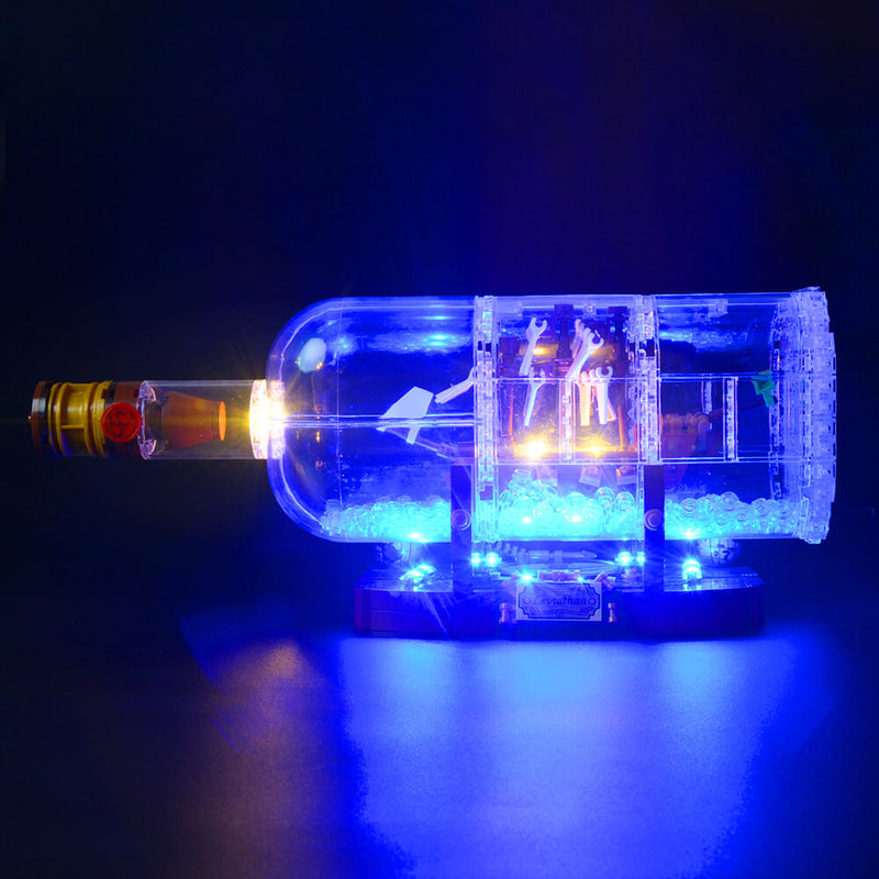 Lego Light Kit For Ship in a Bottle 21313  BriksMax