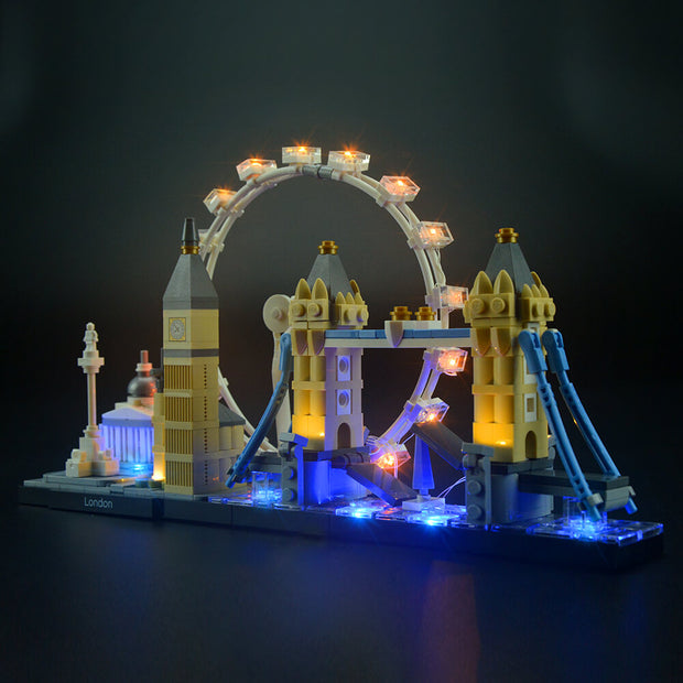 Light Kit For London Skyline 21034