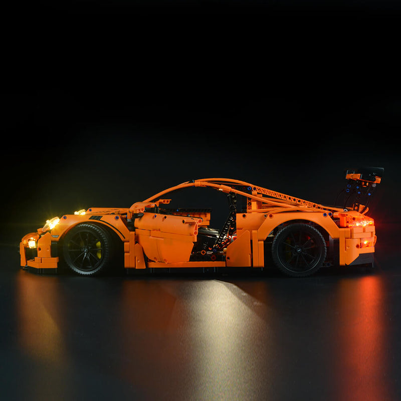 Lego Light Kit For Porsche 911 GT3 RS 42056  BriksMax