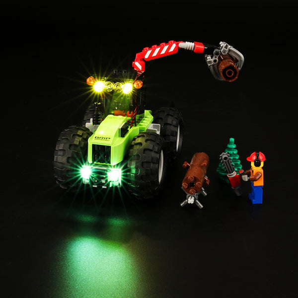 Lego Light Kit For Forest Tracto 60181  BriksMax