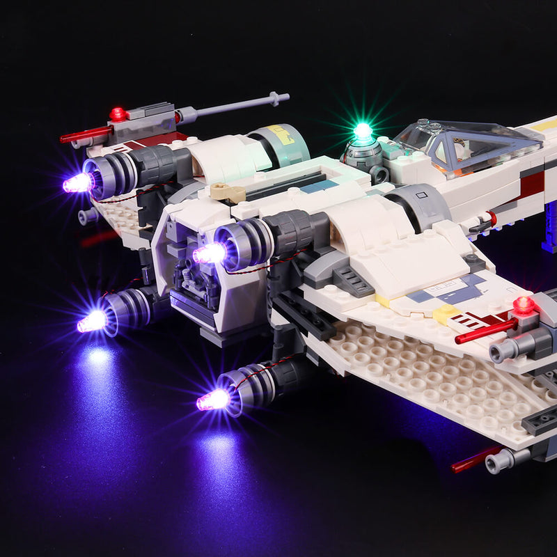 Lego Light Kit For X-Wing Star Fighter 75218  BriksMax