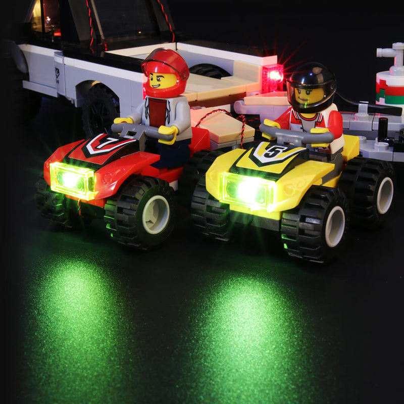 Lego Light Kit For ATV Race Team 60148  BriksMax