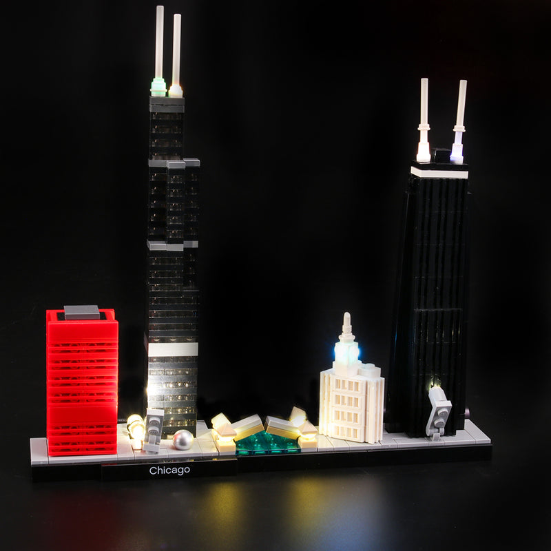 Lego Light Kit For Chicago 21033  Lightailing