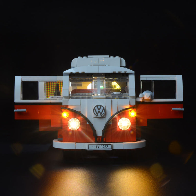Lego Light Kit For Volkswagen T1 Camper Van 10220  BriksMax