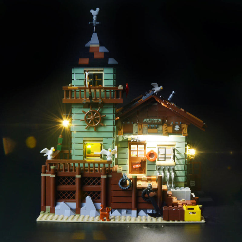 Lego Light Kit For Old Fishing Store 21310  BriksMax