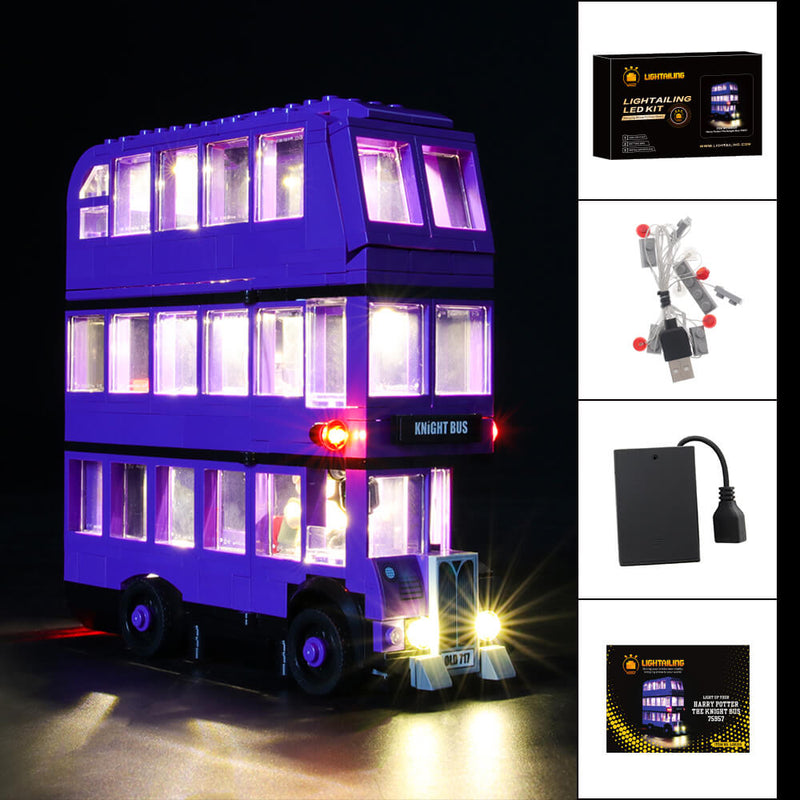 Lego Light Kit For The Knight Bus 75957  Lightailing