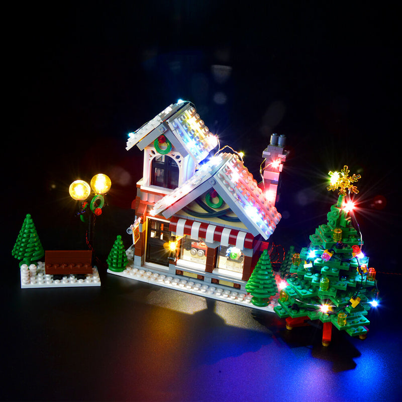 Lego Light Kit For Winter Toy Shop 10249  BriksMax