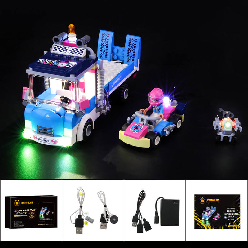 Lego Light Kit For Care Truck 41348  Lightailing