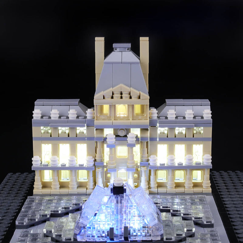 Lego Light Kit For Louvre 21024  BriksMax