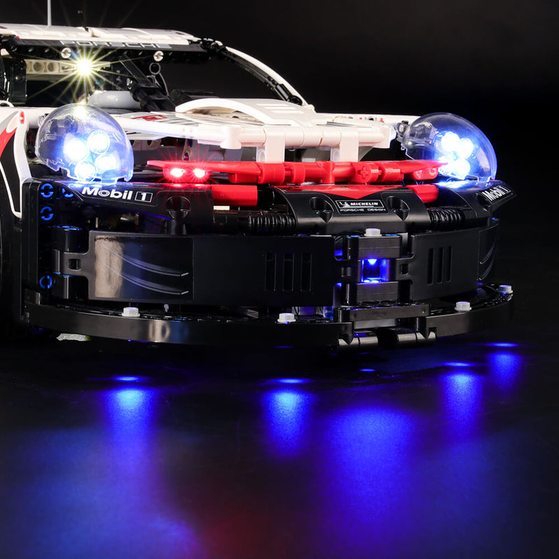 Lego Light Kit For Porsche 911 RSR 42096  Lightailing