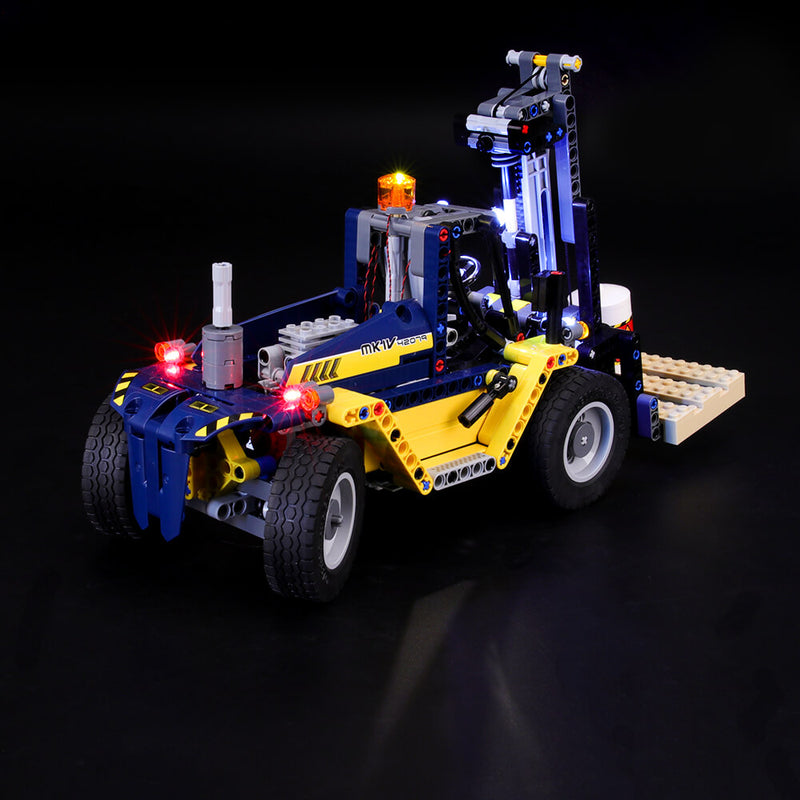 Lego Light Kit For Heavy Duty Forklift 42079  BriksMax
