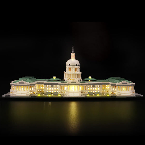 Lego Light Kit For United States Capitol 21030  Lightailing
