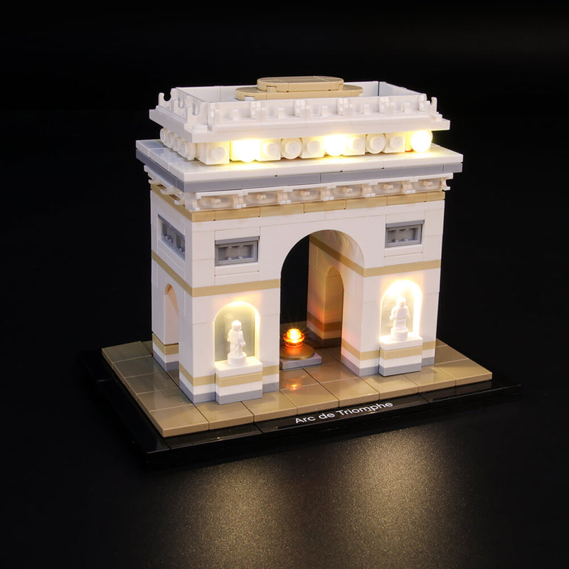 Lego Light Kit For Arc De Triomphe 21036  BriksMax