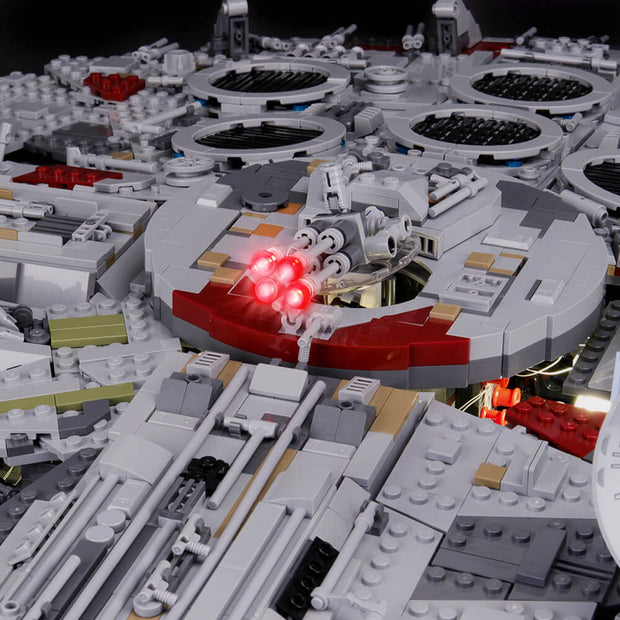Light Kit For Ultimate Millennium Falcon 75192