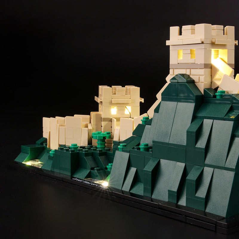 Lego Light Kit For Great Wall of China 21041  Lightailing