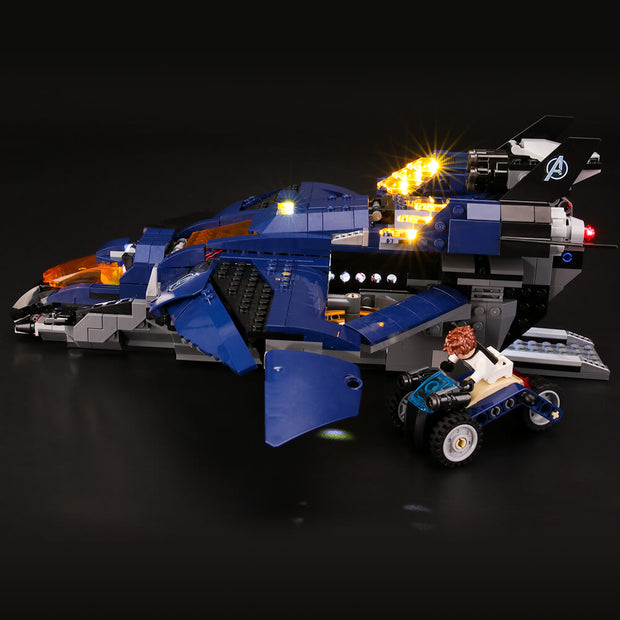 Light Kit For Avengers Ultimate Quinjet 76126