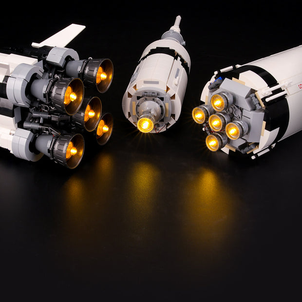 Light Kit For NASA Apollo Saturn V 21309