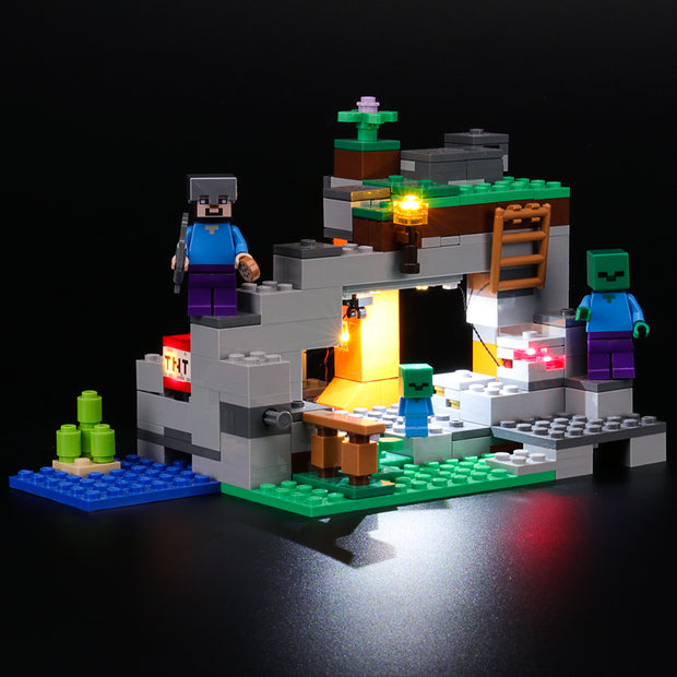 Light Kit For Minecraft The Zombie Cave 21141