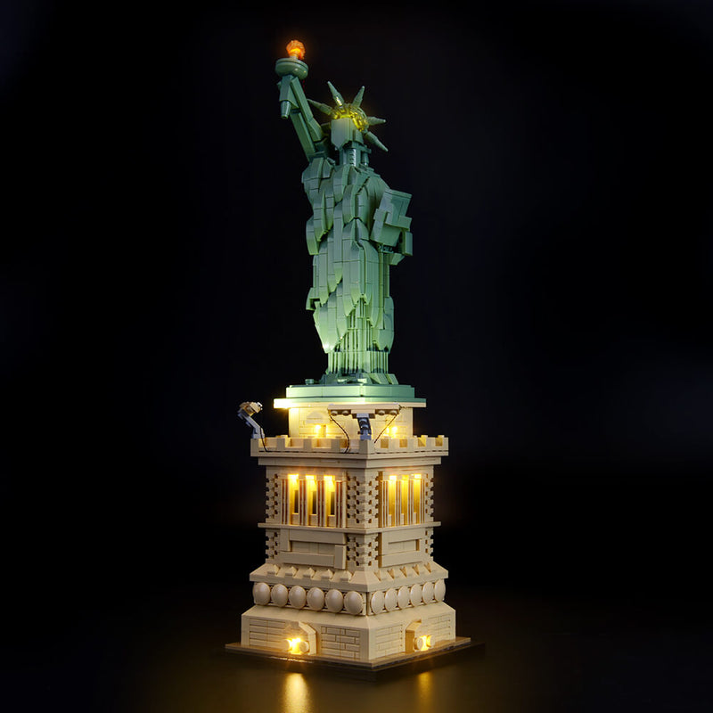 Lego Light Kit For Statue of Liberty 21042  BriksMax