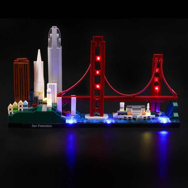 Lego Light Kit For San Francisco 21043  Lightailing