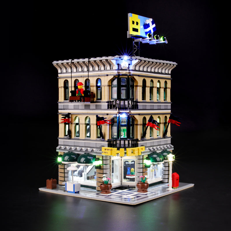 Lego Light Kit For Grand Emporium 10211  BriksMax