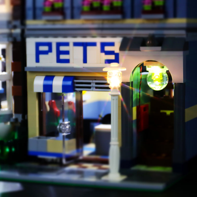 Lego Light Kit For Lego Pet Shop 10218  BriksMax