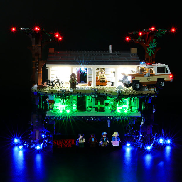 Light Kit For Stranger Things The Upside Down 75810