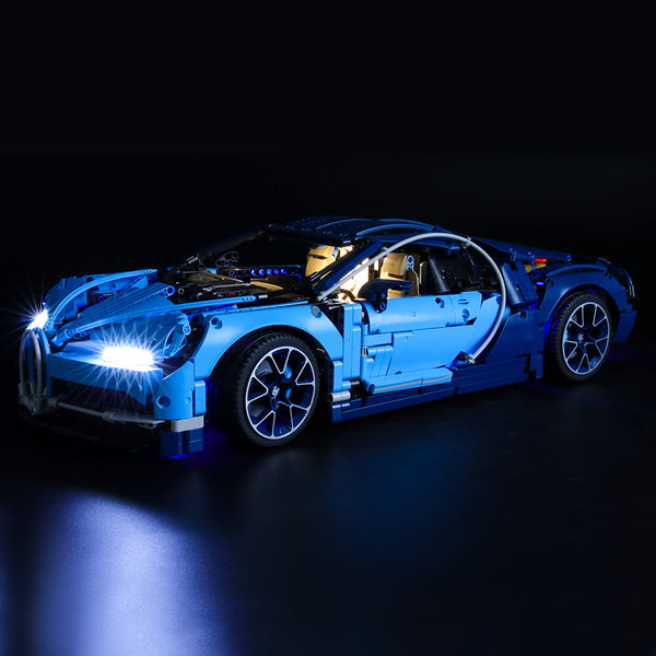 Lego Light Kit For Bugatti Chiron 42083  BriksMax