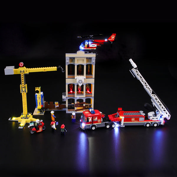 Lego Light Kit For Downtown Fire Brigade 60216  BriksMax